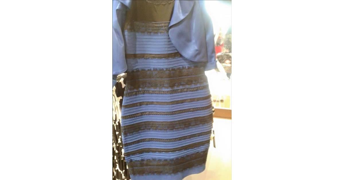 La couleur de la robe qui fait scandale