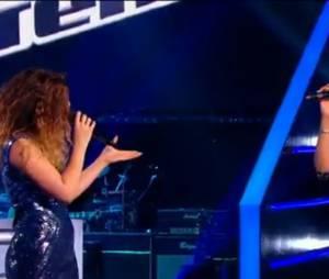 """The Voice 4 :Carole-Anne et Maliya Jackson reprennent """"Eblouie par la nuit"""" de Zaz"""