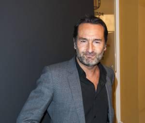 Gilles Lellouche au défilé Etam Live Show 2015, à la Piscine Molitor de Paris, le 4 mars 2015