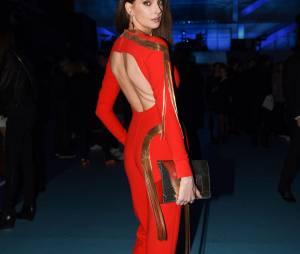 Frédérique Bel au défilé Etam Live Show 2015, à la Piscine Molitor de Paris, le 4 mars 2015