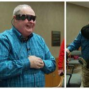 Émotion : un homme aveugle depuis 20 ans recouvre la vue grâce à la science