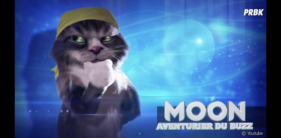 Top Chat : Moon, le chat avanturier, est joué par Moundir