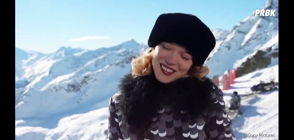 James Bond Spectre : Lea Seydoux sur le tournage
