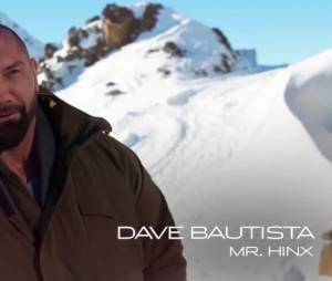 James Bond Spectre avec Dave Bautista