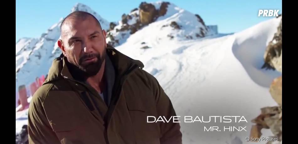 James Bond Spectre avec Dave Bautista