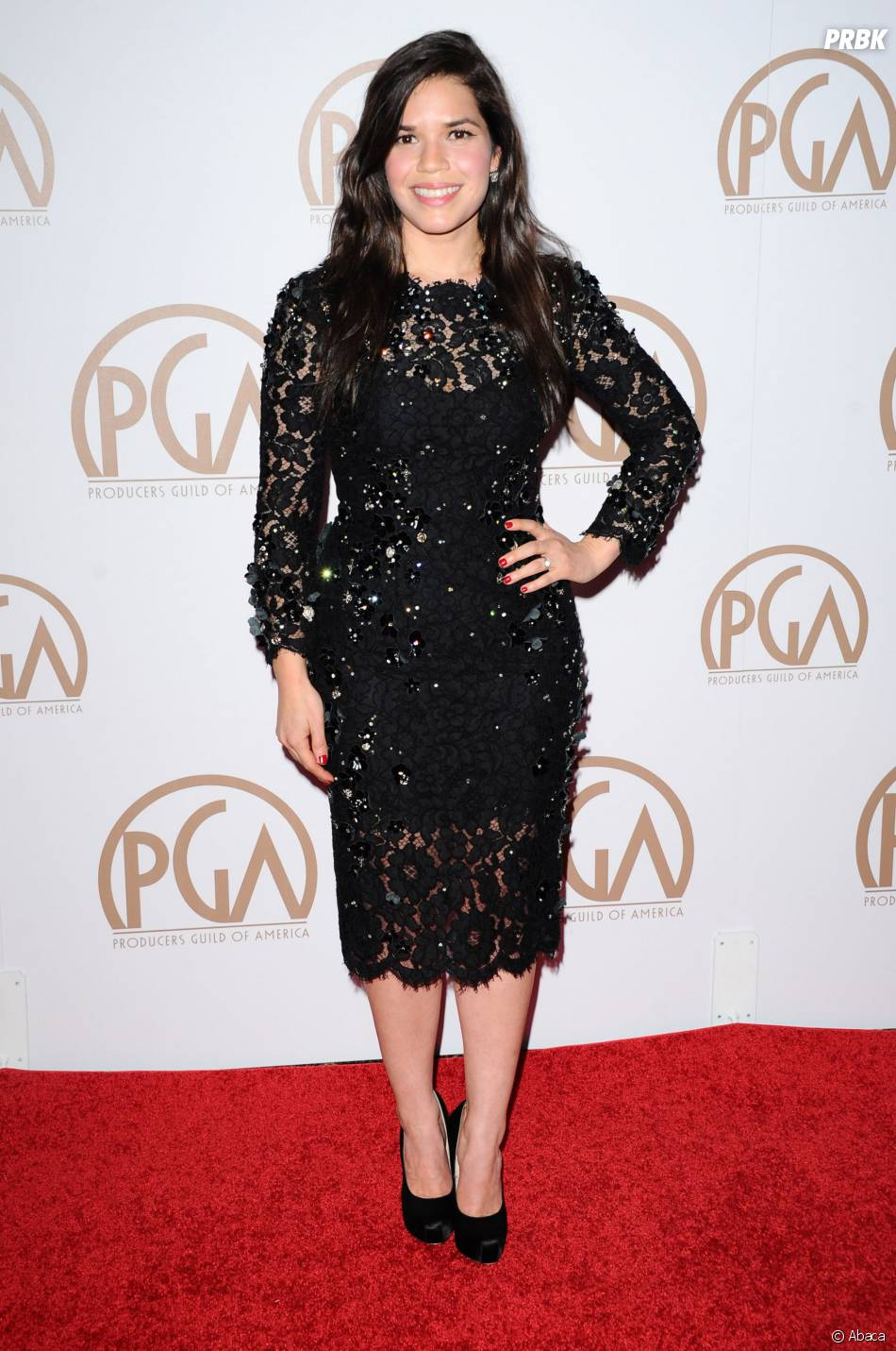 America Ferrera aux Producers Guilds Awards 2015