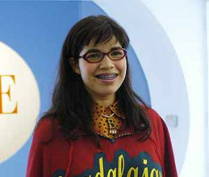 America Ferrera dans son rôle d'Ugly Betty