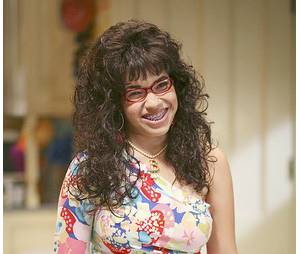 America Ferrera méconnaissable en Ugly Betty