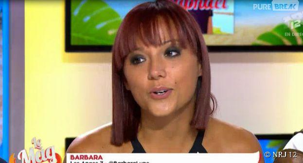Barbara (Les Anges 7) se confie sur sa relation avec Raphaël dans Le Mag de NRJ 12, le 18 mars 2015