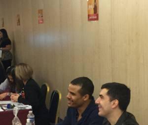 Jacob Artist en séance de dédicaces à la convention Gleek Reunion les 21 et 22 mars 2015 à Paris