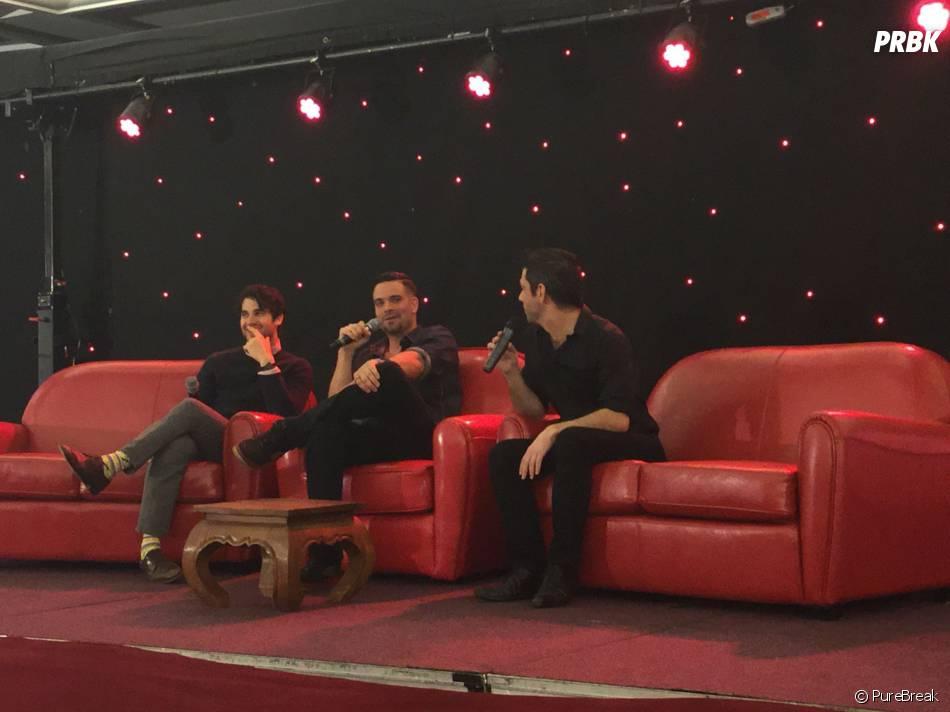 Darren Criss et Mark Salling à la convention Gleek Reunion les 21 et 22 mars 2015 à Paris