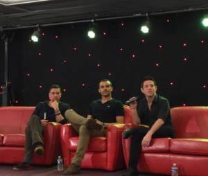 Mark Salling et Jacob Artist à la convention Gleek Reunion les 21 et 22 mars 2015 à Paris