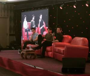 Kevin McHale et Darren Criss à la convention Gleek Reunion les 21 et 22 mars 2015 à Paris