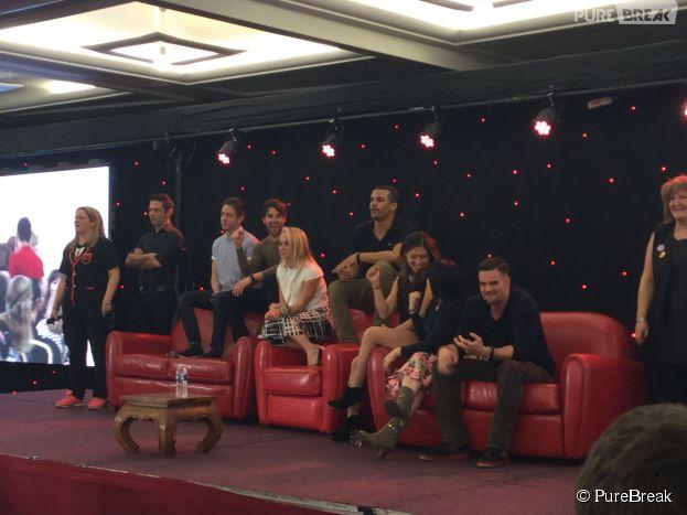 Les stars de Glee à la convention Gleek Reunion les 21 et 22 mars 2015 à Paris