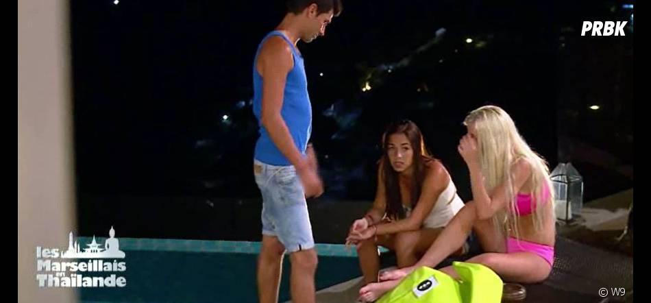Les Marseillais en Thaïlande : Stéphanie secouée par l'arrivée de Manue lors de l'épisode 20 diffusé le 26 mars 2015, sur W9