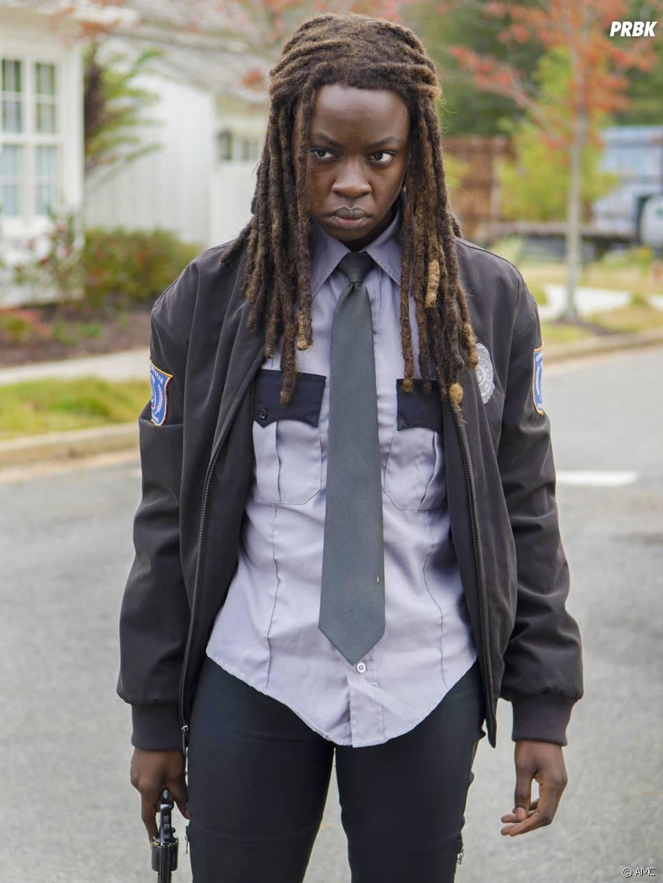 The Walking Dead saison 5 : Michonne sur une photo