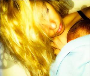 Stéphanie Clerbois : photo avec son fils Lyam sur Instagram