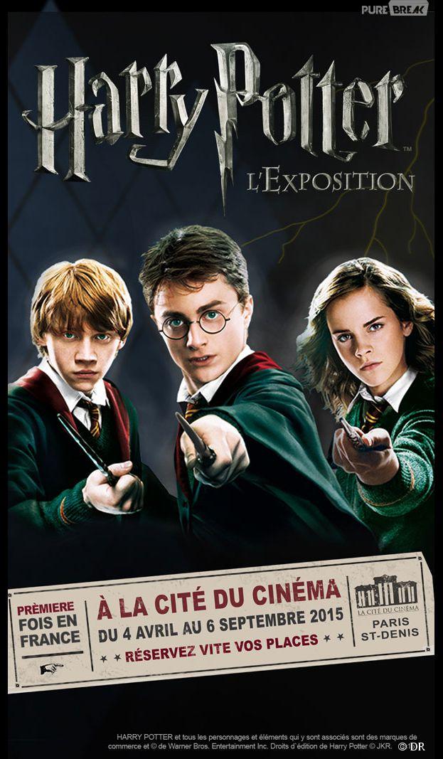 Harry Potter l'Exposition : découvrez ce qui vous attend