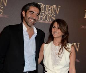 Robin des bois, la véritable histoire : Ary Abittan et Géraldine Nakache à l'avant-première du film à Paris le dimanche 12 avril 2015