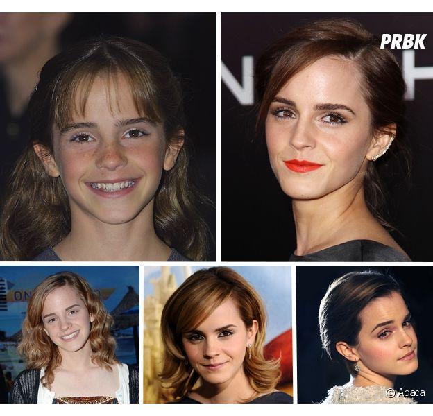 Emma Watson a 25 ans : l'avant/après impressionnant