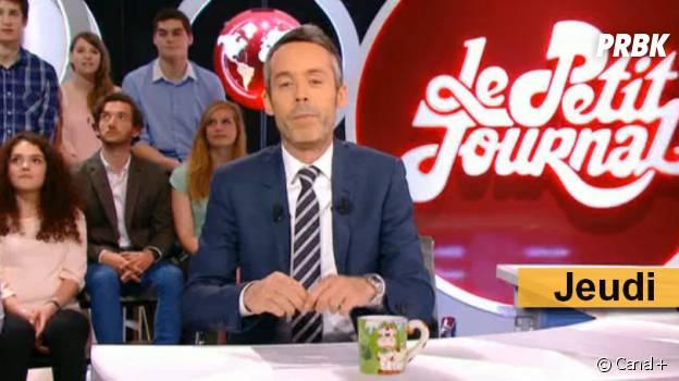 Les mugs de Yann Barthès dans Le Petit Journal de Canal+