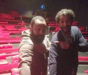 Ramzy Bedia et Dieudonné : leur quenelle au Théâtre de la Main d'Or ? Une ancienne photo instrumentalisée par l'humoriste
