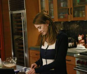 Grey's Anatomy saison 11, épisode 22 : Ellen Pompeo (Meredith) sur une photo