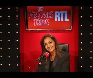 Karine Le Marchand : confidences sur son nom de famille dans Les Grosses Têtes, le 30 avril 2015 sur RTL