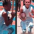 Mason Vale Cotton accro au football américain