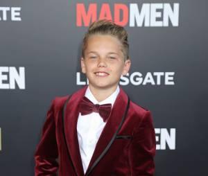 Mason Vale Cotton sur le tapis rouge de la série Mad Men en mars 2015