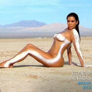 Kim Kardashian entièrement nue dans le désert pour un shooting 100% sexy