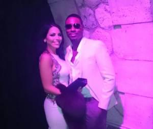 Siham Bengoua et Jessy Matador aux Public Buzz Awards, le 1er avril 2015