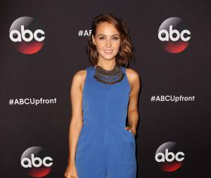 Camilla Luddington aux upfronts de ABC le 12 mai 2015 à New York