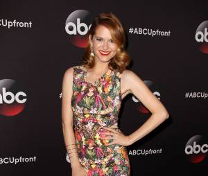 Sarah Drew aux upfronts de ABC le 12 mai 2015 à New York