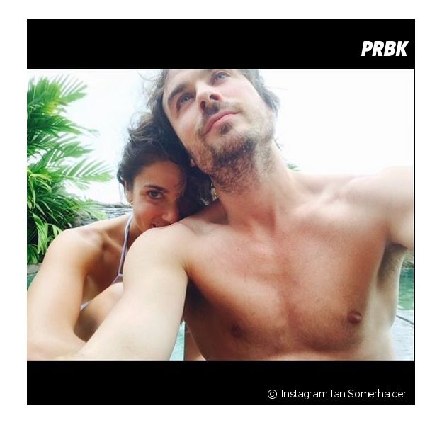 Ian Somerhalder et Nikki Reed pendant leur lune de miel au Costa Rica en 2015
