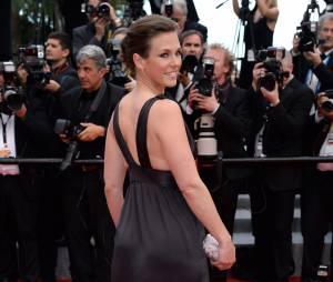 Lorie Pester sur le tapis rouge, le 15 mai 2015 au festival de Cannes