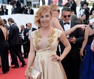 Gaëlle des Ch'tis sur le tapis rouge, le 15 mai 2015 au festival de Cannes