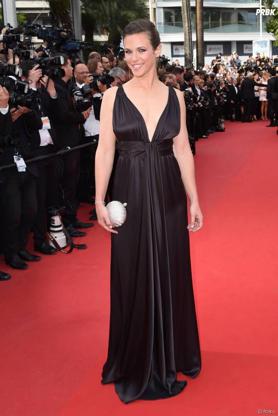 Lorie sur le tapis rouge, le 15 mai 2015 au festival de Cannes
