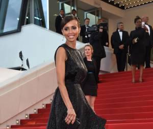Sonia Rolland sur le tapis rouge, le 15 mai 2015 au festival de Cannes