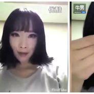 Cette jolie fille démaquille la moitié de son visage : le résultat va vous choquer !