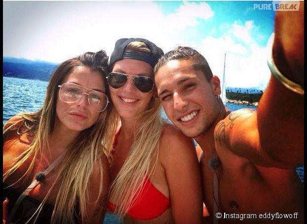 Eddy (Les Anges 7) : déclaration pour Anaïs Camizuli et Amélie Neten sur Instagram, le 24 mai 2015
