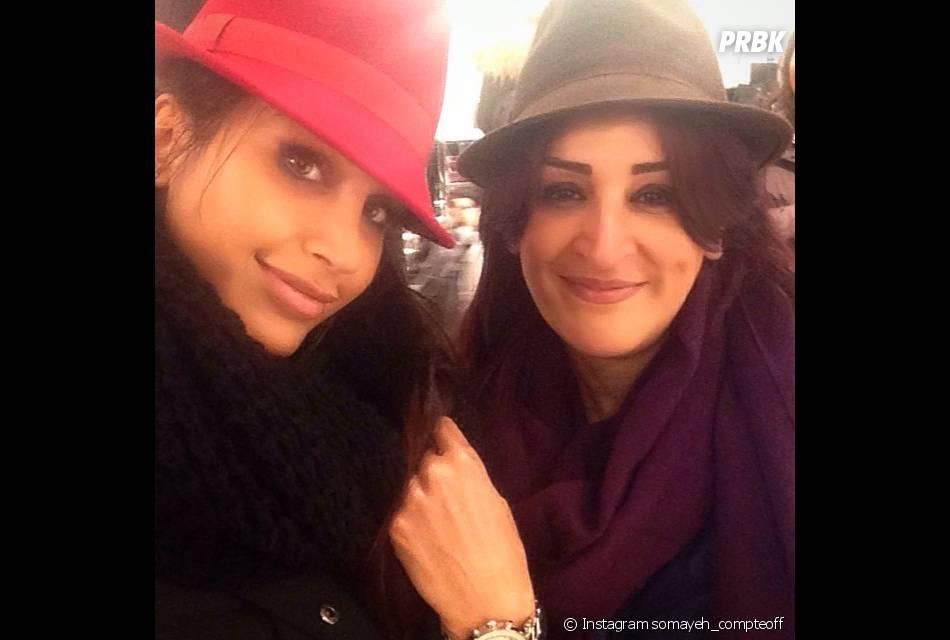 Somayeh (Les Anges 7) : selfie avec sa maman sur Instagram