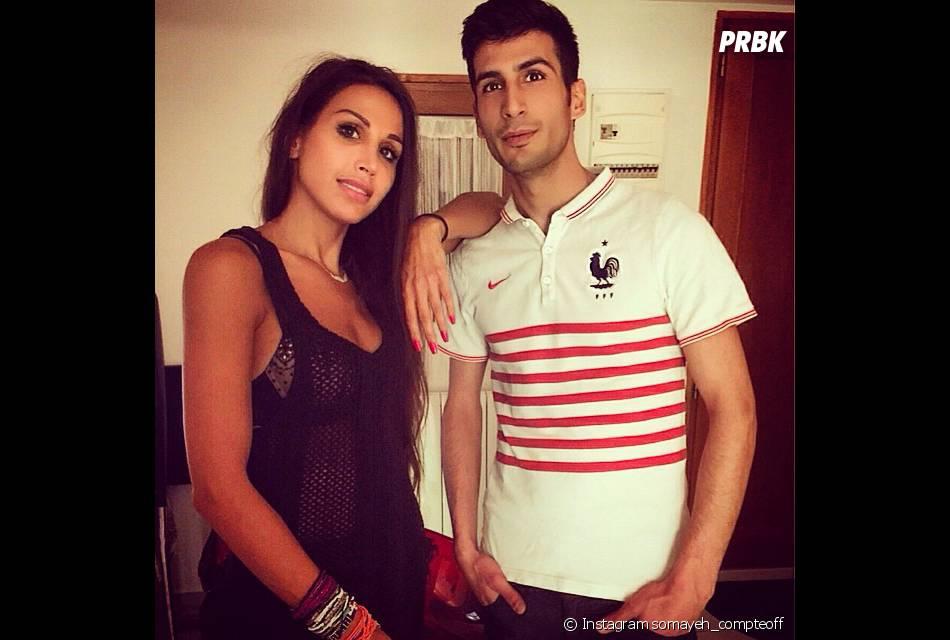 Somayeh (Les Anges 7) : photo avec son frère sur Instagram