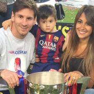 Lionel Messi et Antonella, Gerard Piqué et Milan... les stars du Barça fêtent leur titre en famille