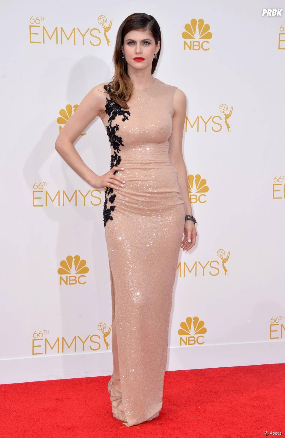 Alexandra Daddario aux Emmy Awards 2014