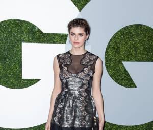 Alexandra Daddario à une soirée organisée par GQ