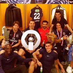 Zlatan Ibrahimovic, Edinson Cavani.. Les stars du PSG fêtent leur Coupe de France et leur quadruplé