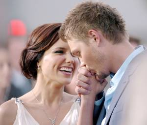 Chad Michael Murray et Sophia Bush en couple en avril 2005