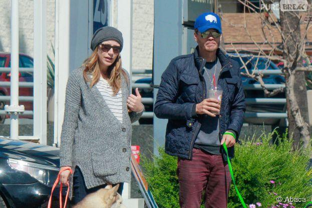 Chad Michael Murray et sa femme Sarah Roemer dans les rues de Los Angeles, le 3 mars 2015