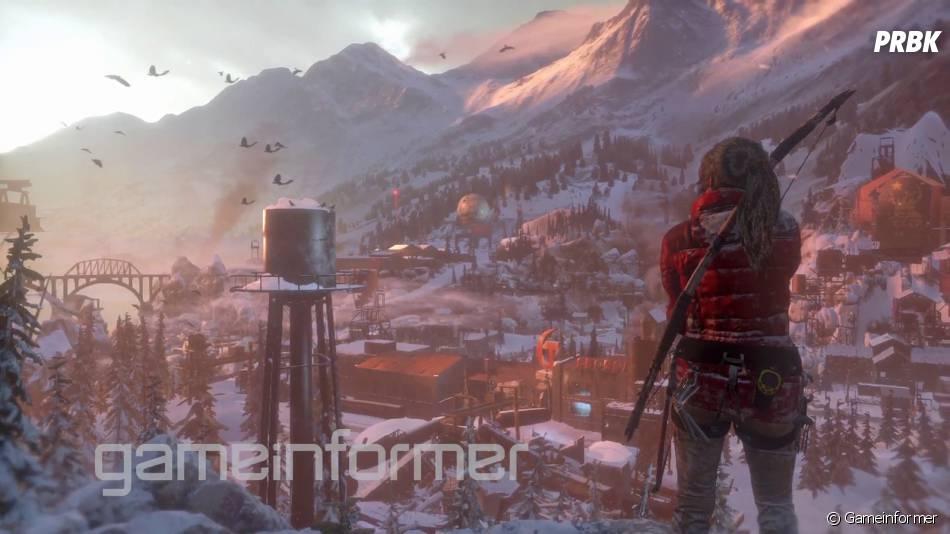 Rise of the Tomb Raider : un aperçu des environnements